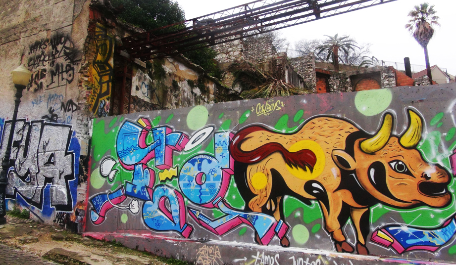 Street Art Lisabon - stamina